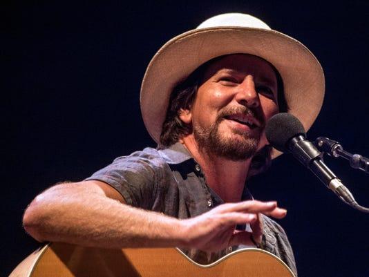 Eddie Vedder charmed Louisville at the Bourbon & Beyond Festival
