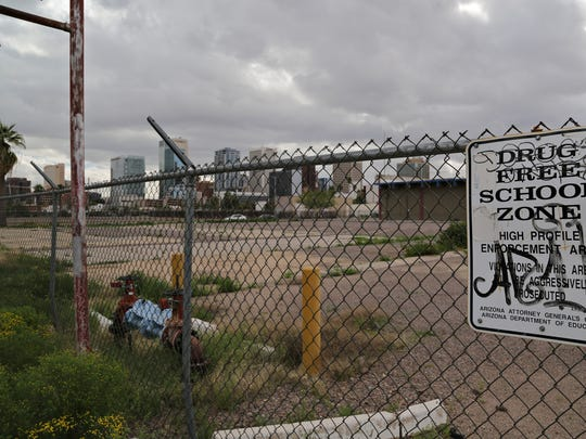 Land south of Fillmore Street between Fourth and Sixth
