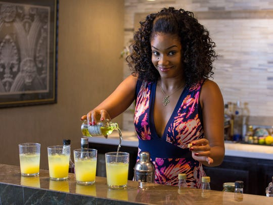 Tiffany Haddish gives a smile during 'Girls Trip.'