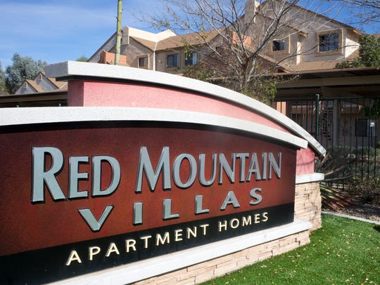 The Red Mountain Villas, Jan. 30, 2018, 815 N. 52nd St., Phoenix.
