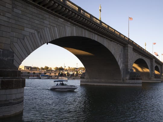 London Bridge, February 8, 2018, Lake Havasu City, Arizona.