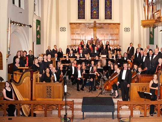 TOCCATA Tahoe Symphony Orchestra and Chorus in a 2012 photo.
