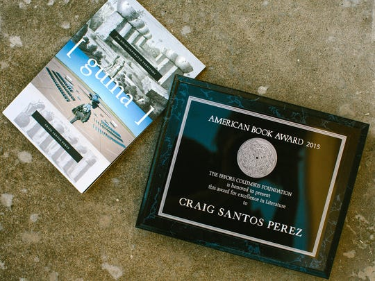 Craig Santos Perez is a 2015 winner of the American Book Award for his poetry collection from unincorporated territory [guma'], about his home island of Guam.