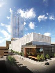 This is a rendering of Mandelbaum Properties' 39-story