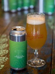 Point Ybel's Sowflo IPA is a New England-style IPA finished with Blue Dream terpenes made from cannabis plants.
