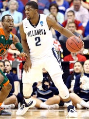 Villanova Wildcats forward Kris Jenkins.