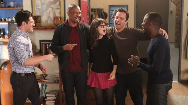 """Tuesday, Nov. 5: 'New Girl' (Fox, 9 ET/PT): It hasn't been a great season so far for 'New Girl,' as the show's handling of the relationship between Jess and Nick and its effect on their roommates has been an unfortunate drag. But here's something that might help: the return of Damon Wayans Jr., whose 'Happy Endings'-induced exit was an early blow to the series. His return as """"Coach"""" is a boon to viewers, though it does mean the writers are going to have to try even harder to come up with something funny for his replacement, Lamorne Morris's Winston."""