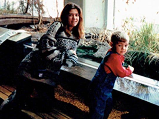 Libertad Lauren Harris (left) and her son, Garrett Gutierrez, will graduate together.