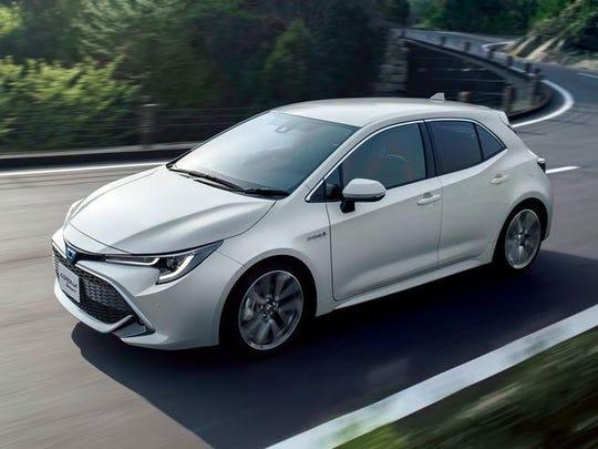 Toyota's Corolla Sport hatchback