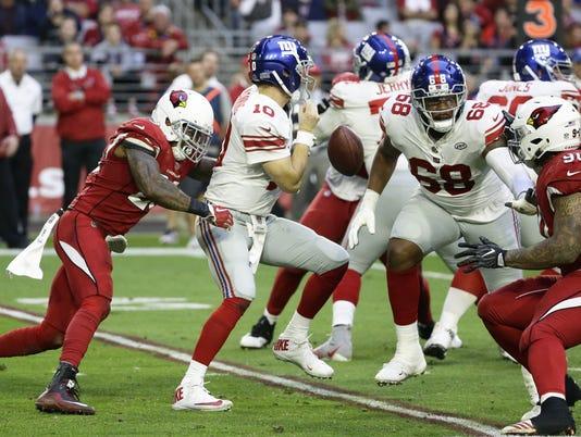 Giants vs Cardinals 2017
