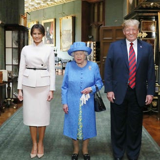 Trump's royal faux pas: What POTUS got wrong about his meeting with the queen