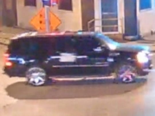 Milwaukee police released this photo of a suspect vehicle