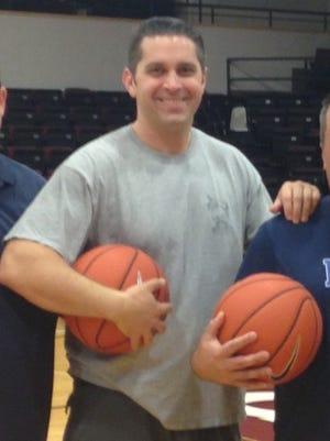 Brick Memorial's new varsity boys basketball coach Jason Bloom