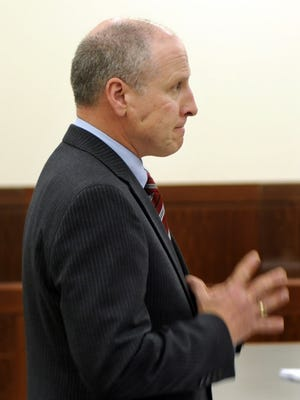 Prosecutor Joseph A. Quinlan in court in Worcester in 2011