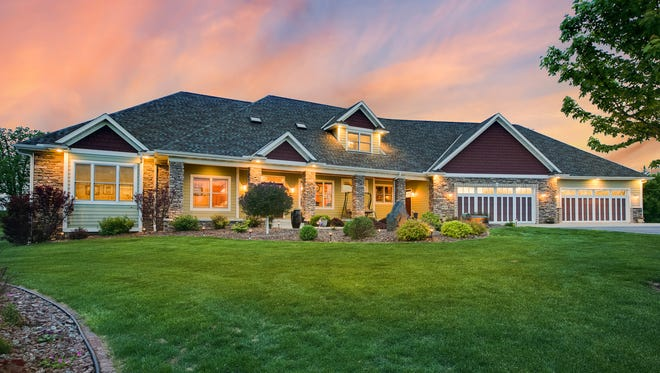 The home at 22600 Meadowvale Road NW, Elk River, is a retreat with easy access to city life.