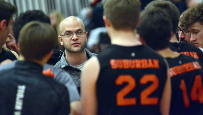 Oliver Good is the new leader of the York Suburban boys' volleyball program.