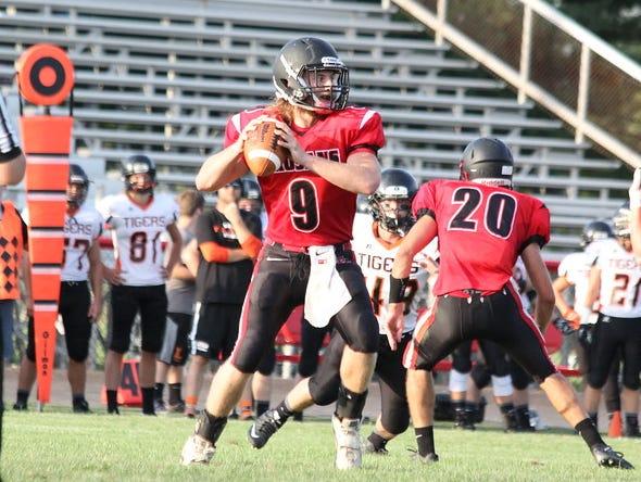 East Central quarterback Luke Patton leads the Trojans into Saturday's 4A title game.