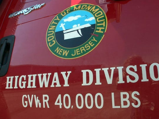 Monmouth County's old seal, seen here on a DPW truck, is being replaced with a new seal that more clearly depicts a plow.