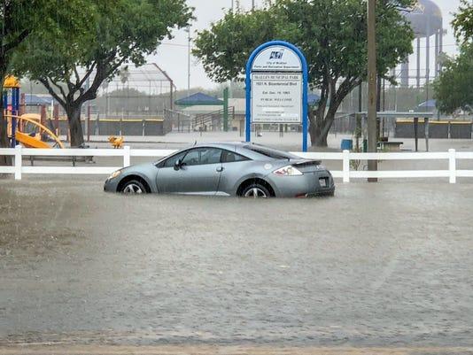 USP NEWS: TEXAS FLOODING A WEA USA TX