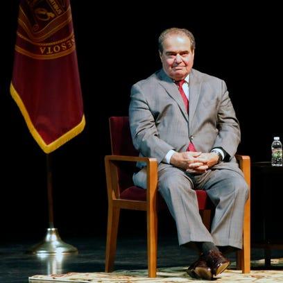 Antonin Scalia, juez de la Corte Suprema de la Estados