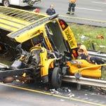 Two dead in Mount Olive crash involving Paramus school bus