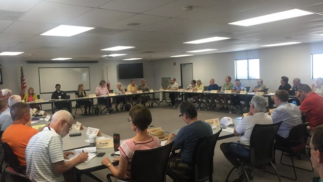 One-PS, a group of representatives from each of the Palm Springs' 39 recognized neighborhoods, met at the Palm Springs Fire Training Center on Thursday for its monthly meeting.