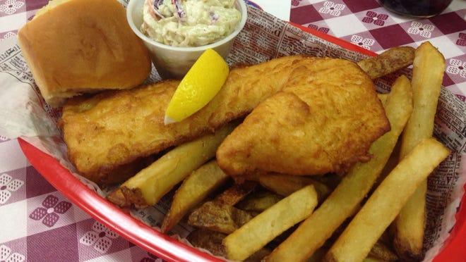 OK UK British Fish-n-Chips in North Fort Myers serves Icelandic cod coated in beer batter and fried in peanut oil, what they say gives great quality and flavor to their menu.
