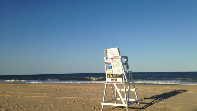 A swimmer died after being caught in a rip current in Ocean City.