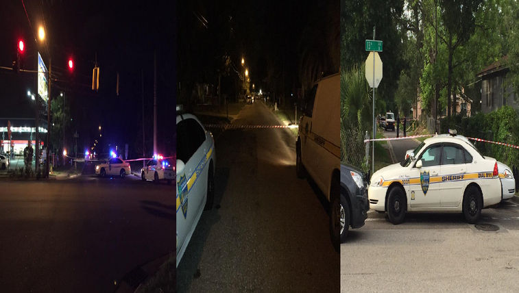 Three different shooting scenes in Jacksonville Tuesday