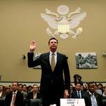 FBI Director James Comey testifies in Congress on July 7, 2016.