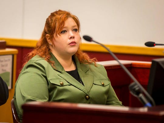 """The murder trial of Sera Alexander is underway Monday, March 5, 2018, at Drake's Legal Clinic in Des Moines, Iowa. Sera Alexander is facing a bench trial for a second-degree murder charge after she shot  her stepfather last year. She tried to invoke the """"stand your ground"""" law, but the judge said she couldn't since the crime happened before the law went into effect."""