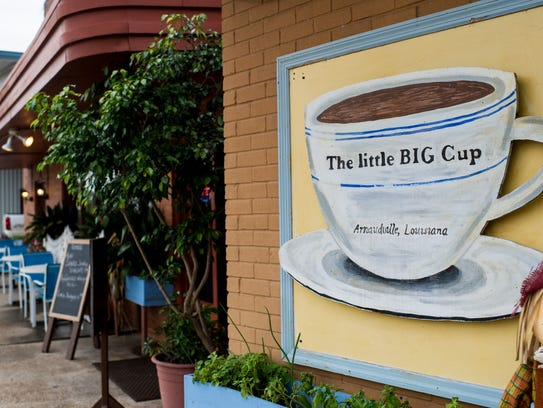 The Little Big Cup in Arnaudville, La., is pictured,
