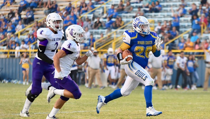 GAME OF THE WEEK: Reagan County runs away with win
