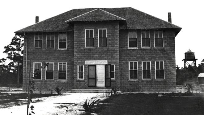 Stuart School building, 1910-1912.