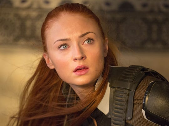 Sophie Turner stars as a young Jean Grey in 'X-Men: