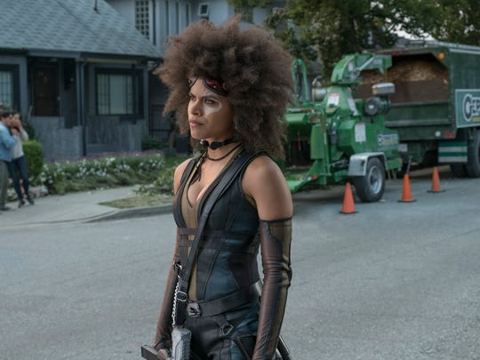Zazie Beetz stars as the wildly lucky mutant Domino