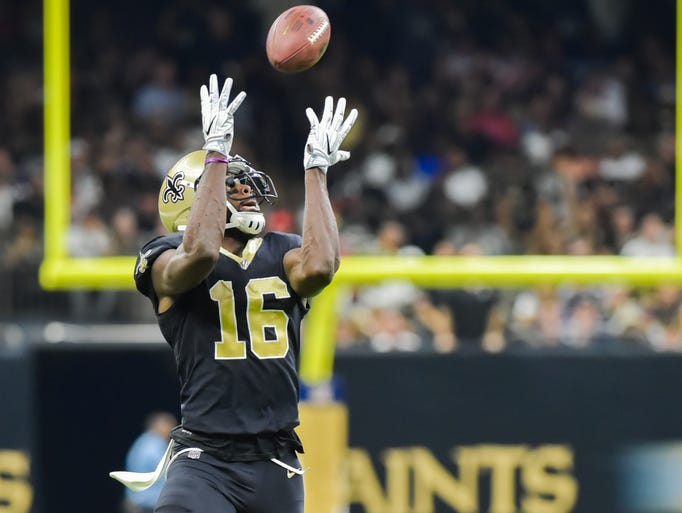 Wide Receiver Brandon Coleman catches a pass as The