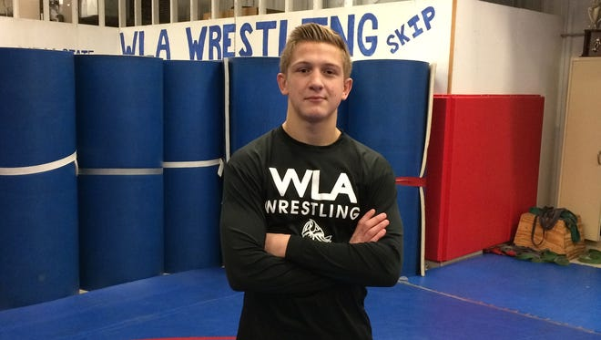 Winnebago Lutheran's Luke Meihack is out to a great start to the season for the Vikings wrestling team.