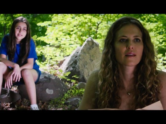 "Beth Polito, left, and Meissa Hampton are lost in the woods in ""Treasure Map,"" a film directed by Frederic Lehne and Jerry Keselman, students of the NJ Film School in New Providence."
