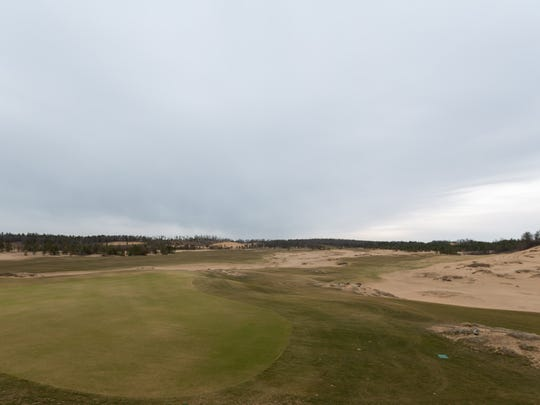 A view of the Sand Valley Golf Resort that is set to