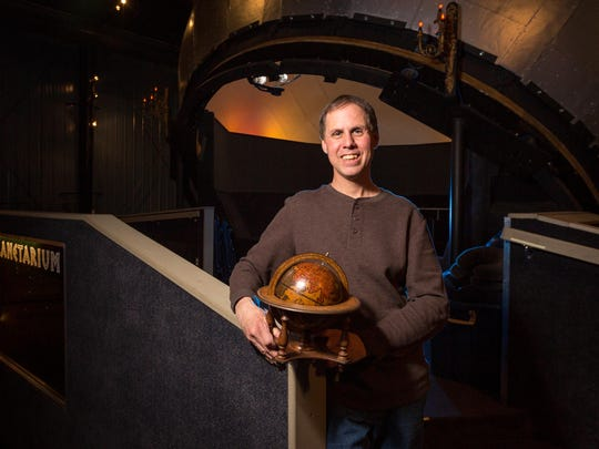 Frank Kovac, builder and founder of Kovac Planetarium, built the world's largest mechanical globe planetarium in his backyard in Wisconsin's Northwoods, about 20 miles east of Rhinelander, Wis. Taken on March 25, 2017.