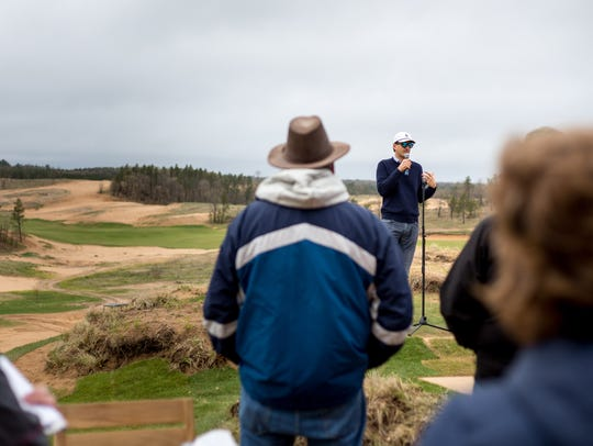 Mike Keiser, owner and managing partner at Sand Valley