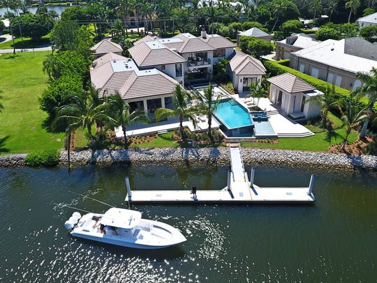 The $17.7 million estate at 3750 Rum Row in the prestigious