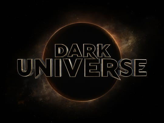 The official Dark Universe logo, a twist on the old