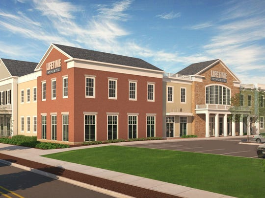 A rendering of Life Time Athletic at Chappaqua Crossing.