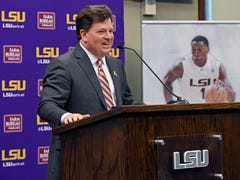 New LSU AD Scott Woodward is home again: 'We will win SEC and NCAA championships'