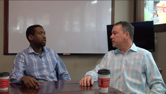Times reporter David Unze and Tech High School and the Central Minnesota Islamic Center's Ahmed Abdi discuss cultural differences.