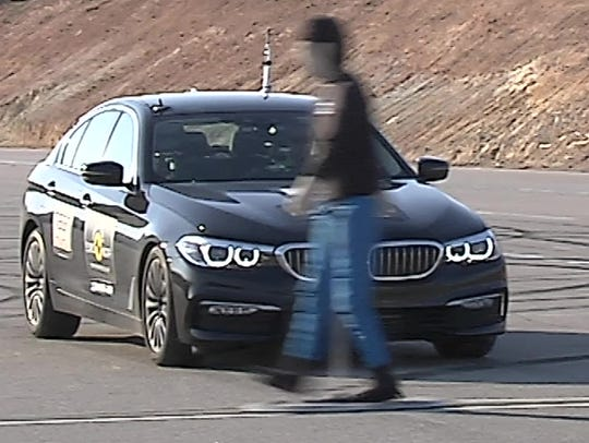 This is an image from a video showing how vehicles
