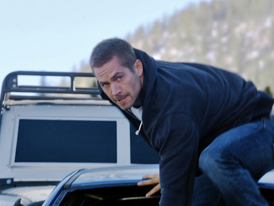 """The late Paul Walker stars in """"Furious 7."""""""