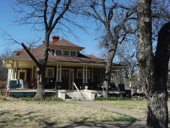 A house at 742 Amarillo St. is on the Abilene Register